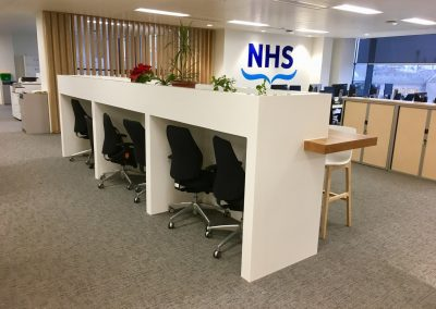 Aberdeen NHS Offices in Krion Snow White
