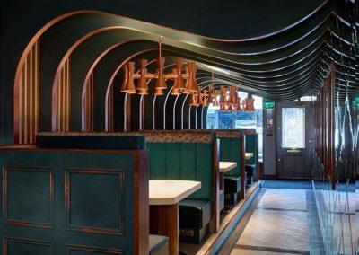 Grape & Grain Bar in Aberdeen in Corian Bone (2)