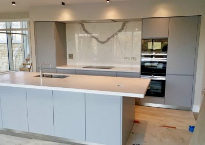 Krion Snow White Worktops